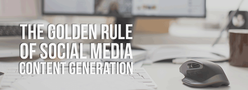 Social Media golden rule social media marketing