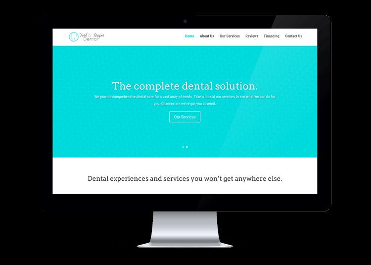 Ford & Draper Dental Website Design Logan, Utah