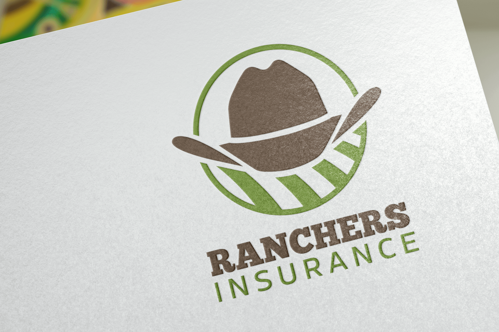Ranchers Insurance Logo Design Project