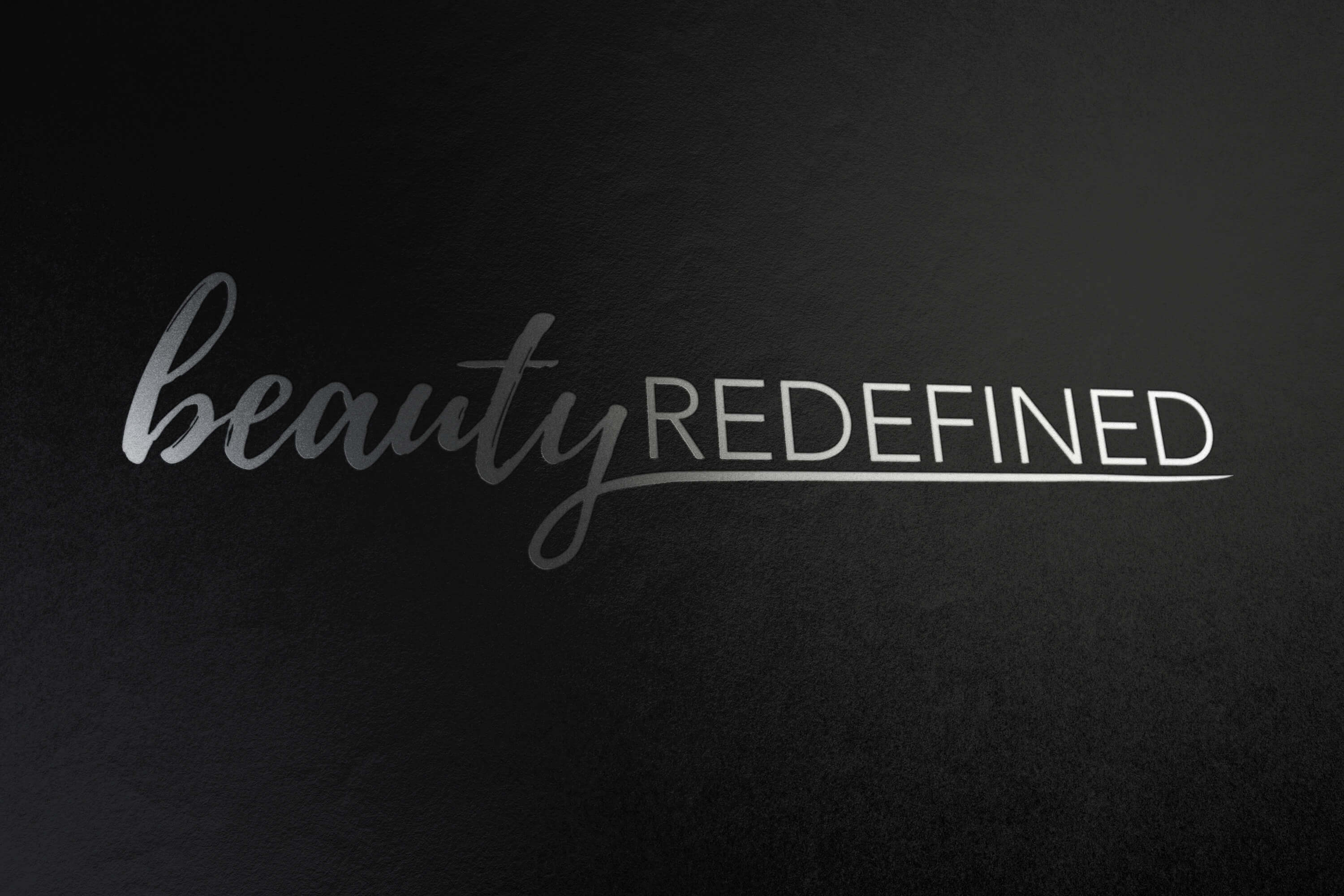 Beauty Redefined Logo Design Project