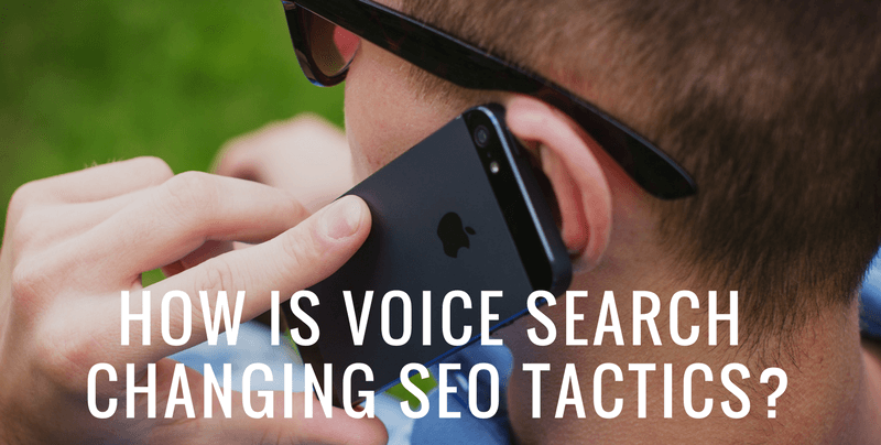 how is voice search changing seo tactics